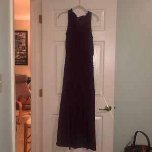 Lulu's burgundy/maroon dress